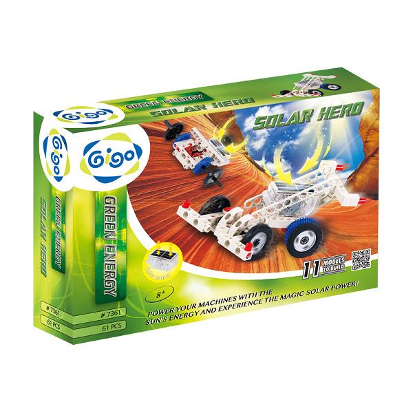 智高GIGO TOYS 太陽能機械入門組 科技積木-綠色能源系列.#7361