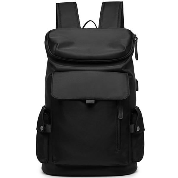 TRIANBER 牛津布個性時尚大容量後背包電腦包