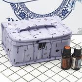 精油收納箱 新款定制版 天鵝絨精油收納包便攜防摔精油袋5ml/10/15ml椰油包 美物 交換禮物