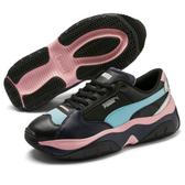 PUMA STORM.Y Metallic Wn's 女鞋 休閒 復古 老爹鞋 增高 黑 藍 粉【運動世界】37141201
