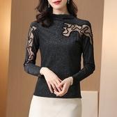 秋裝時尚氣質淑女修身打底衫顯瘦上衣8906ME076依佳衣