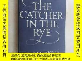 二手書博民逛書店英文書罕見THE CATCHER IN THE RYE 共228頁Y15969