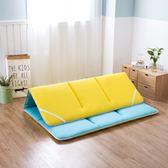 雙面兩用加厚床褥 1.5m床1.8m單地鋪睡墊  BQ1133『夢幻家居』