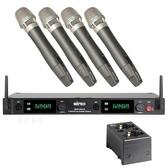 MIPRO ACT-2414專業舞台四頻道無線麥克風組(含MP-80充電器,充電池)