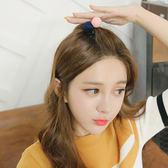 髮飾 雙色 拼接 簡約 甜美 髮圈 髮飾【DD1612001】 icoca  04/20