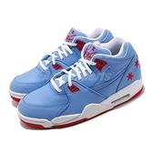 【六折特賣】Nike 休閒鞋 Air Flight 89 藍 白 男鞋 復古籃球鞋 刺繡星星 氣墊 【ACS】 CU4831-406