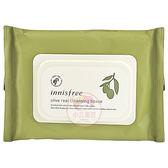 韓國 Innisfree 橄欖真萃保濕卸妝棉(30入)【小三美日】