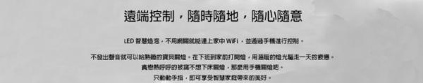 【免運費】yeelight智慧情境彩光燈泡 Google定制版