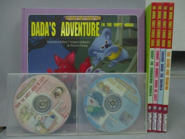 【書寶二手書T6/少年童書_YDA】The Animal Family Stories Series_共5書+4光碟合售