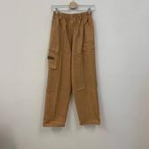 韓版百搭基本款高腰工作褲休閒褲(XL號/777-1326)