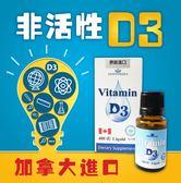 維生素D3滴劑 Vitamin D3 陽光維生素 非活性★【久億藥局】