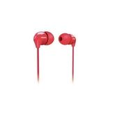 《省您錢購物網》全新~ 福利品~飛利浦Philips普普風密閉型耳塞式耳機/紅色(SHE3570)買一送一