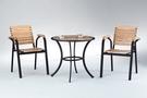 【南洋風休閒傢俱】戶外休閒桌椅系列-休閒圓桌椅組 戶外餐桌椅CX904-1 CX939-16)