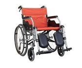 【贈好禮】康揚 鋁合金輪椅 KM-1510 經濟升撥腳型  鋁合金手動輪椅