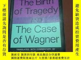 二手書博民逛書店THE罕見BIRTH OF TRAGEDY AND THE CA