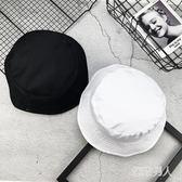 純色兩面歐美街頭雙面戴百搭時尚漁夫帽WZ2169 【極致男人】