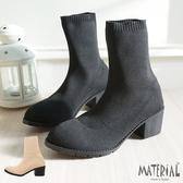 短靴 鬆緊襪套式短靴 MA女鞋 T5630
