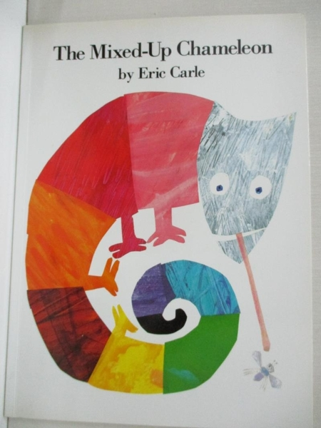 【書寶二手書T4/少年童書_D7H】The Mixed-Up Chameleon_Carle, Eric