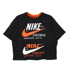 NIKE 女 AS W NSW ICN CLSH SS TOP 圓領T(短) - CJ2041010