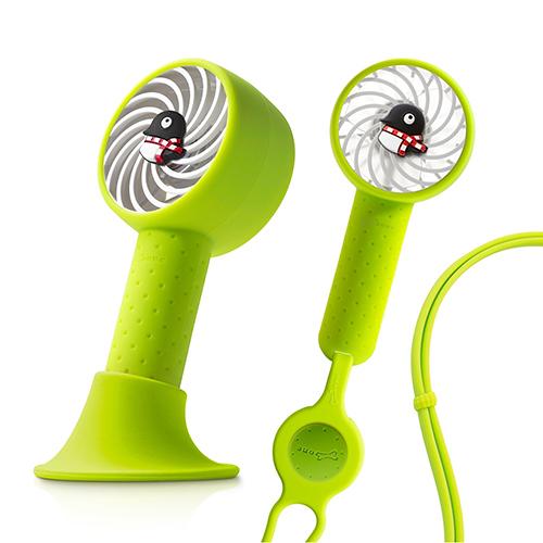 Bone Collection 頸掛桌立兩用風扇 手持風扇 USB風扇 頸掛雙用風扇 Lanyard Fan 企鵝小丸
