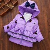 正韓童裝冬裝寶寶棉衣1-3-4歲女童加絨外套兒童加厚棉襖棉服