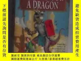 二手書博民逛書店英文原版《罕見A Sword for a Dragon 》by