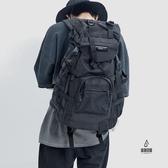 戶外登山包工裝防水旅行雙肩包機能大容量背包男質感【愛物及屋】