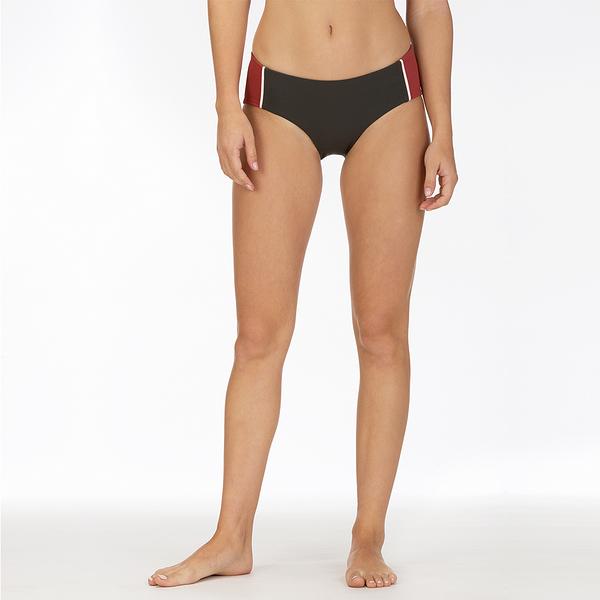 HURLEY 女 W QD MARITIME BOY SURF BOTTOM PALE IVORY 比基尼褲