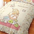床包 / 雙人加大【角落小夥伴逗逗貓】含兩件枕套 高密度磨毛 戀家小舖台灣製 角落生物