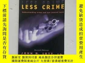 二手書博民逛書店More罕見Guns, Less CrimeY254853 John R. Lott Jr. Universi