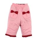 【愛的世界】純棉鋪棉兩面穿長褲/6個月~1歲-台灣製- ---秋冬下著