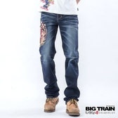 BIG TRAIN 鍾馗火焰小直筒-男