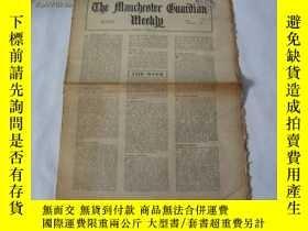 二手書博民逛書店外文原版報紙罕見THE MANCHESTER GUARDIAN WEEKLY 1948年2月26日 第9期 共16