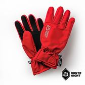 【Route 8八號公路】成人款 - KREATE 3M 防水保暖手套 (酒紅色)