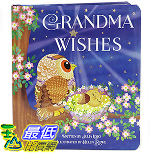 [106美國直購] 2017美國暢銷兒童書 Grandma Wishes: Children s Board Book (Love You Always)
