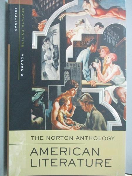 【書寶二手書T1/原文書_XFI】The Norton Anthology American Literature-Volume D_Nina Baym