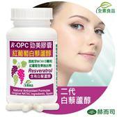 【赫而司】R-OPC二代勁美紅葡萄(含白藜蘆醇)植物膠囊(60顆/罐)