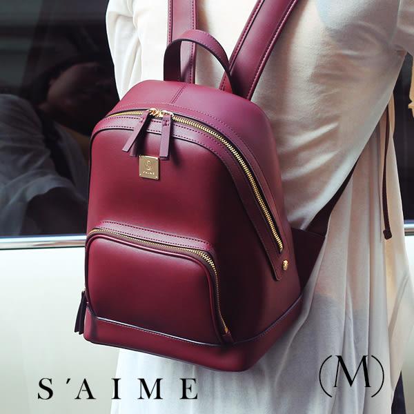 後背包-方塊中性多功能後背包(M) 肩背 手提 多用 包包【SBG28-A012M】S'AIME東京企劃