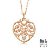 點睛品 V&A bless系列 18KR 玫瑰金鑽石項鍊