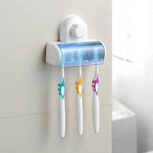 創意生活日用/超強魔力吸牆牙刷架0.1kg
