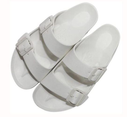 AIRWALK 男女款戶外休閒涼拖鞋 白-NO.A755220100