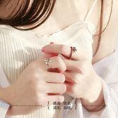 戒指 原創設計天使惡魔之翼情侶對戒男女純銀開口戒指個性簡約日韓  酷動3C