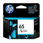 HP 原廠彩色墨水匣 N9K01AA 65號 適用 DJ 3720/3721