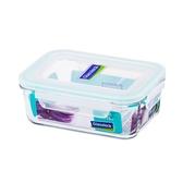 大廚師百貨-Glass Lock強化玻璃保鮮盒715ml長方型密封盒RP521便當盒副食品保存盒