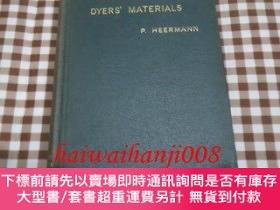 二手書博民逛書店洋)Dyers 罕見Materials An Introduction to the Examination 2版