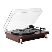 台灣現貨 老式復古黑膠唱片機客廳歐式lp留聲機便攜唱片機手提黑膠唱機現貨