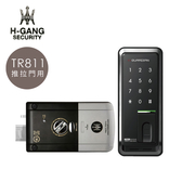 海強電子鎖 TR811 二合一 密碼/指紋 推拉門用 觸控 感應 原廠保固 韓國製 智能 智慧 門鎖