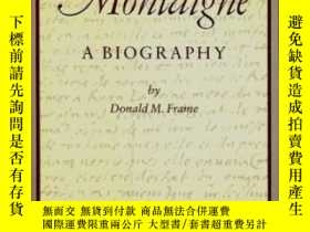 二手書博民逛書店罕見MontaigneY256260 Donald Murdoch Frame North Point Pr