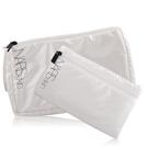 NARS 經典化妝包(22x7x13cm)+手拿包(20x22cm)-白色【美麗購】