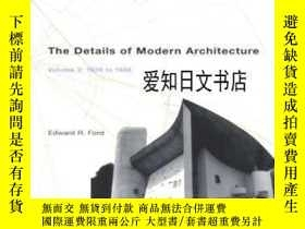 二手書博民逛書店【罕見】2003年出版 The Details Of Modern ArchitectureY175576 E